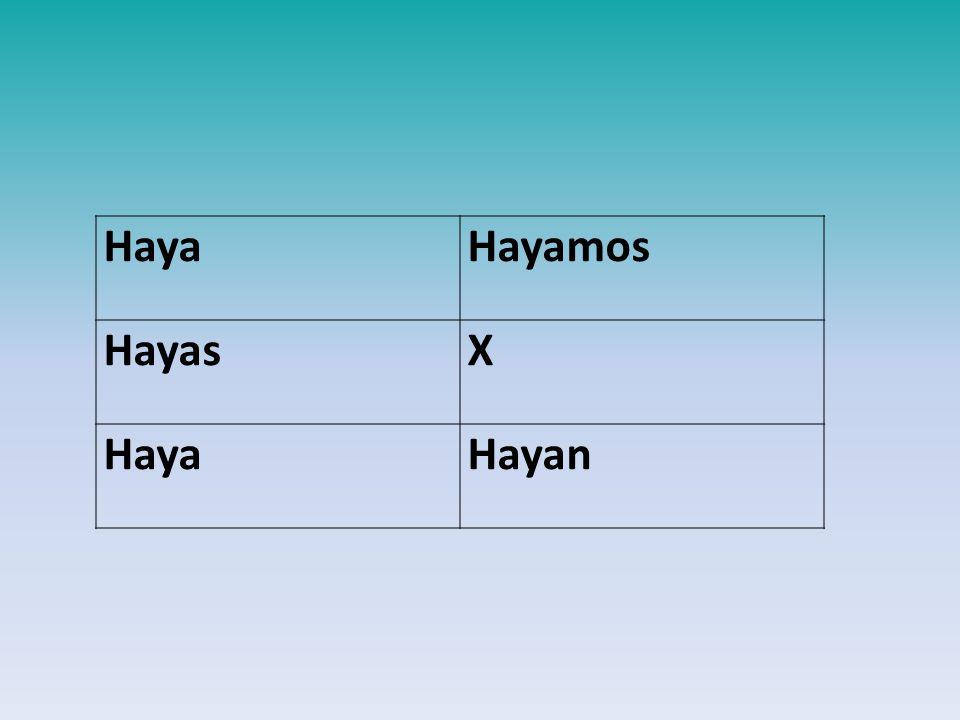 HayaHayamos HayasX HayaHayan