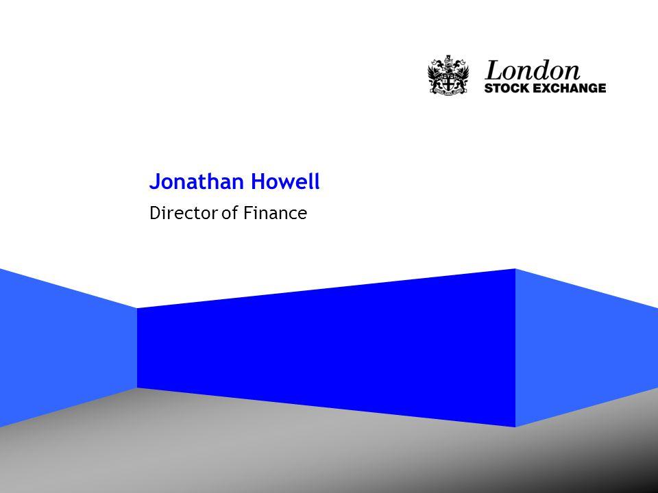 Jonathan Howell Director of Finance