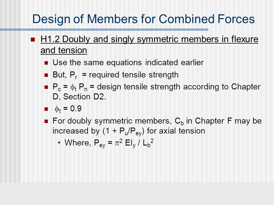 P P M1M1 M2M2 2nd order effects V1V1 -V 1 M1M1 M2M2 Moment diagram M(x) x Free Body diagram In deformed state v(x) is the vertical deformation Includes effects of deformations & axial forces P M1M1 V1V1 M(x) = M 1 +V 1 x + P v(x)