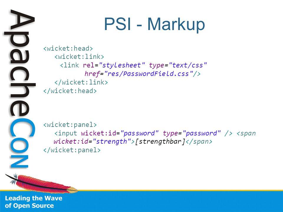 PSI - Markup [strengthbar]