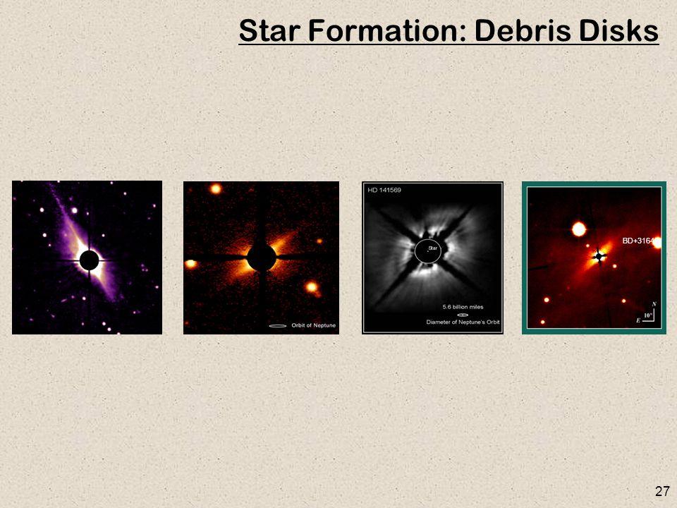 27 Star Formation: Debris Disks BD+31643