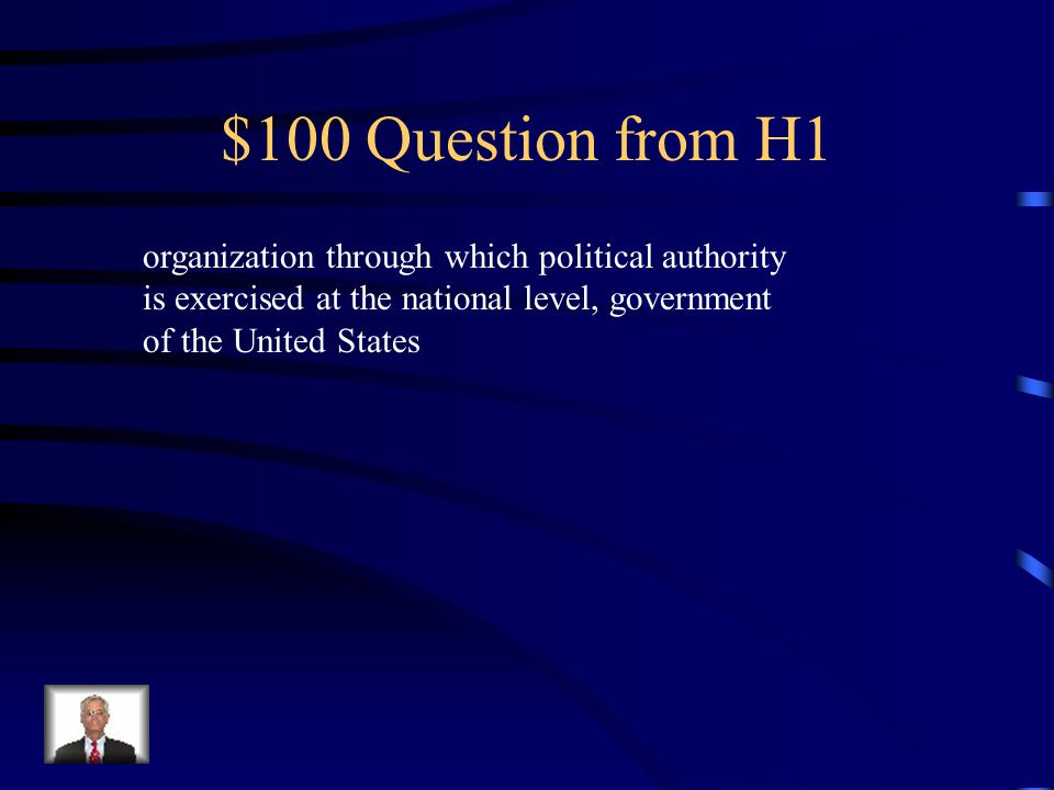 $100 Question from H3 Which of the following are an example of a federal service.