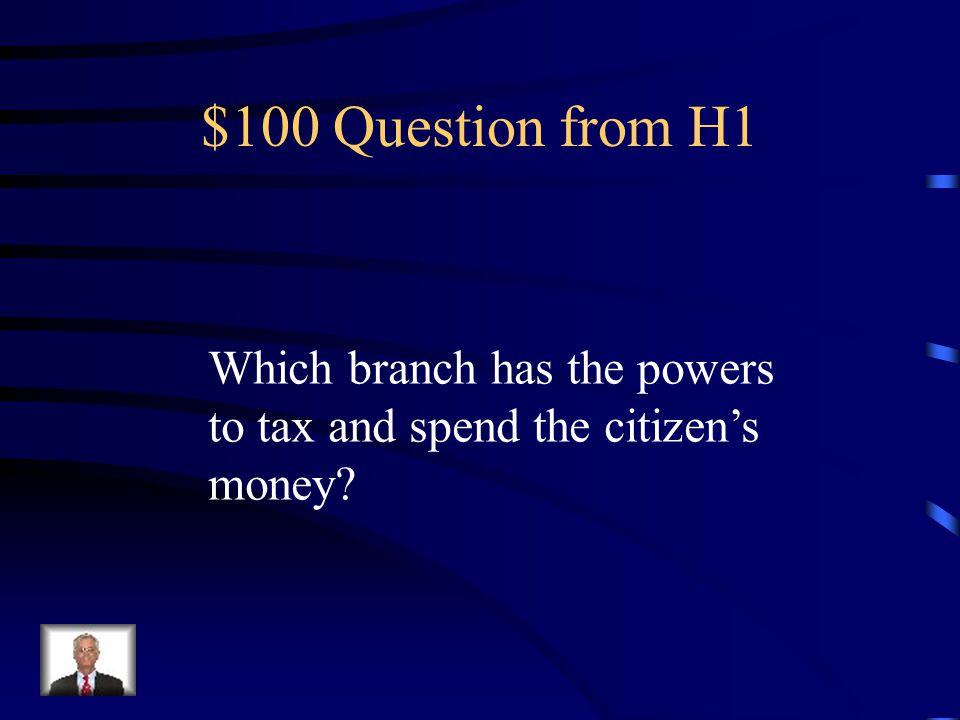 Jeopardy Powers 1Strength 2Limits 3 WarPowers Q $100 Q $200 Q $300 Q $400 Q $500 Q $100 Q $200 Q $300 Q $400 Q $500 Final Jeopardy