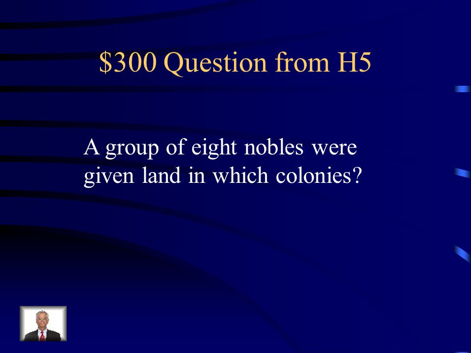 $200 Answer from H5 Jamestown settlers (VA)
