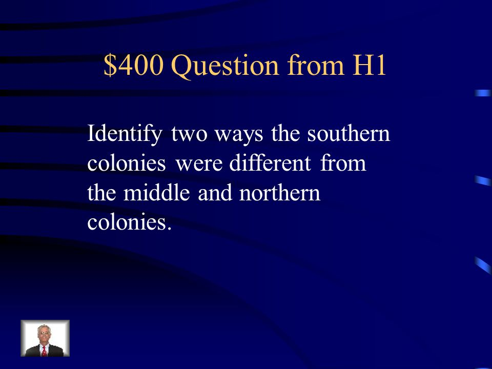 $300 Answer from H1 Anne Hutchinson and Roger Williams