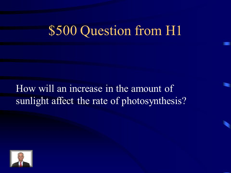 $400 Answer from H1 Chloroplasts.