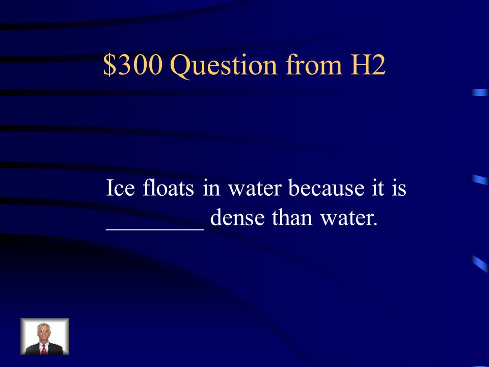 $200 Answer from H2 Physical Change