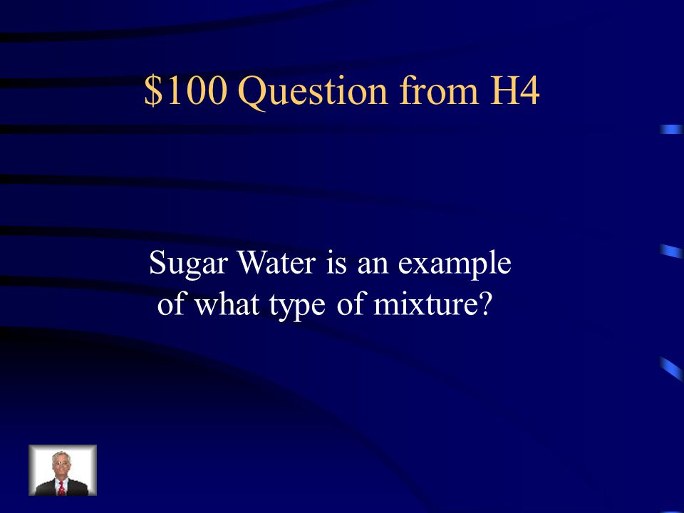 $500 Answer from H3 C – Dissolving Salt