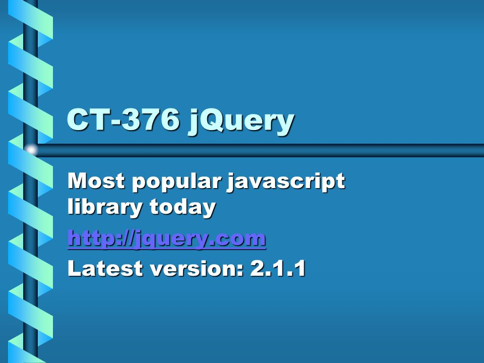 jQuery ElementsElements CssCss Effects and animationsEffects and animations AjaxAjax Cross browser compatibleCross browser compatible WidgetsWidgets EventsEvents Much more,..Much more,..