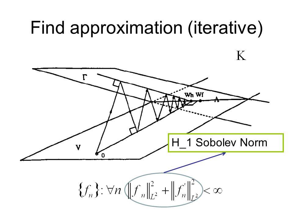 H_1 Sobolev Norm