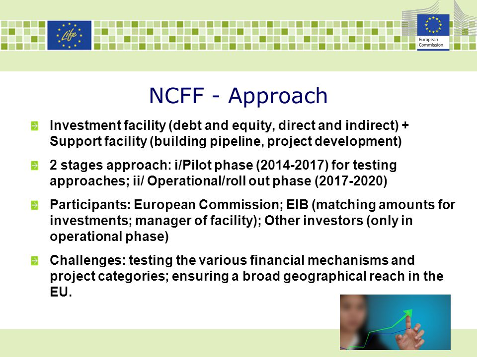NCFF : Example of project based on payment for ecosystem services What is the project.