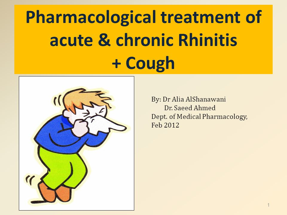 RHINITIS Inflammation & swelling of mucous membrane of nose Eyes, ears, sinuses, & throat can also be involved.