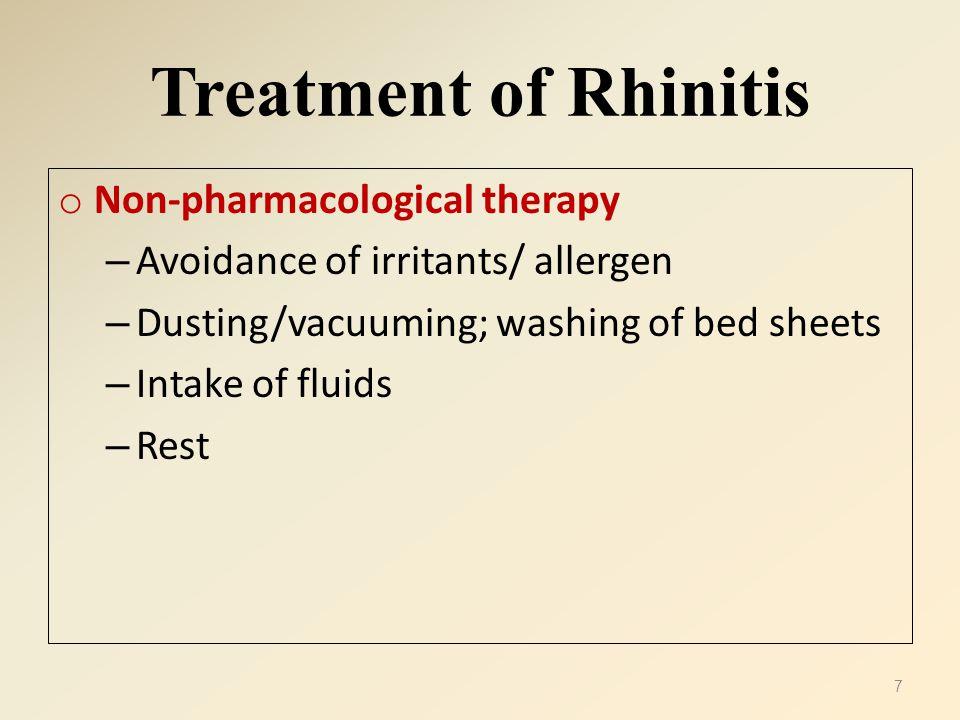 Properties of Antihistamines * Used locally/ orally.