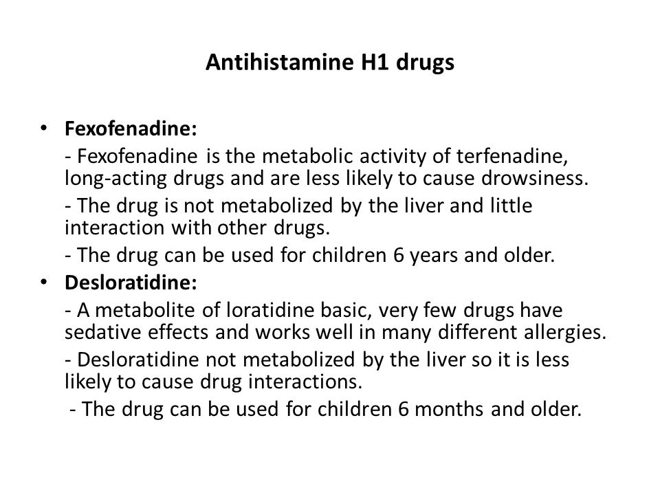 Review question Which H1-antihistamines are effective and safe for CSU.