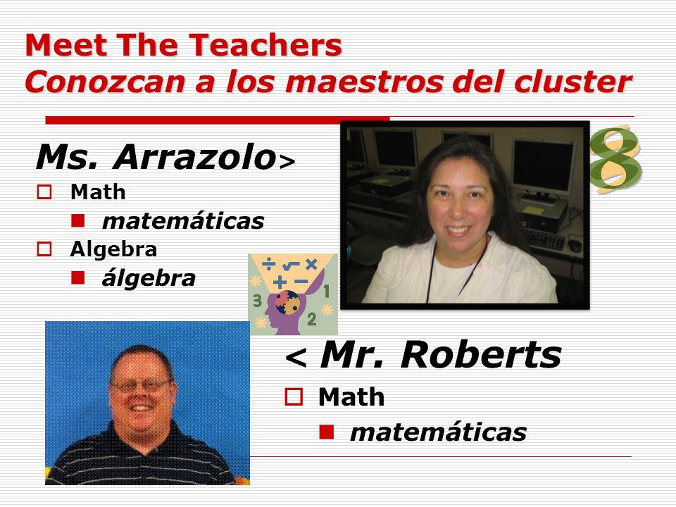 Ms.Arrazolo >  Math matemáticas  Algebra álgebra < Mr.