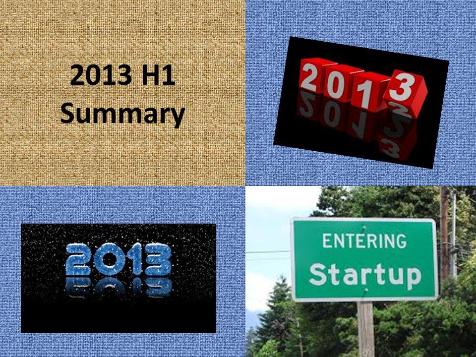 2013 H1 Summary