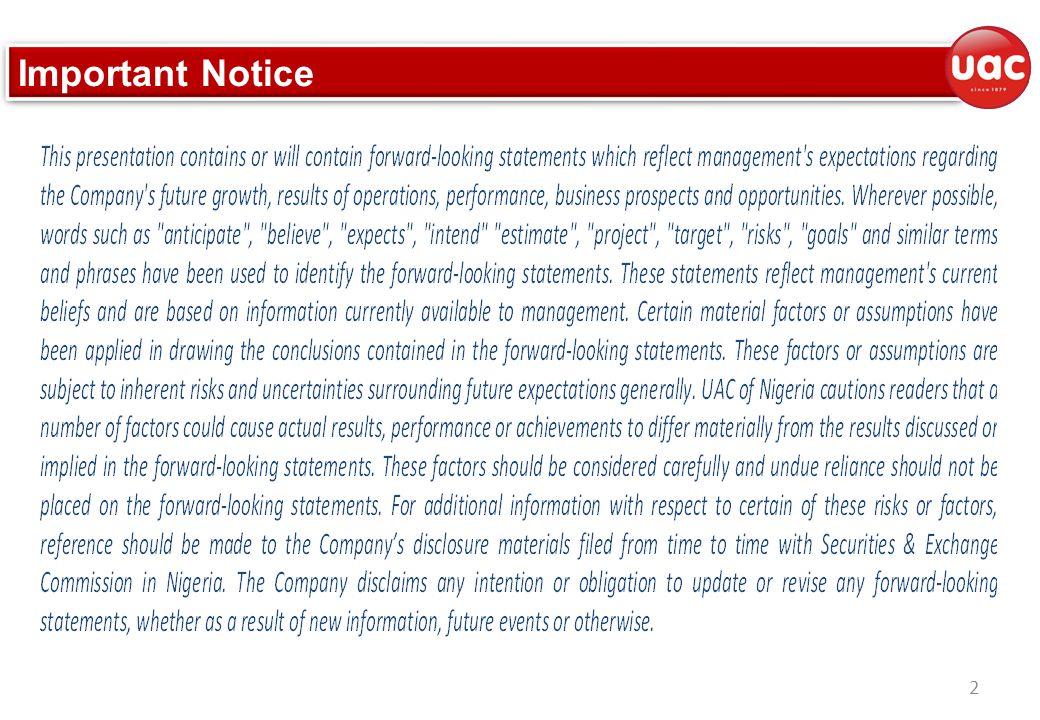 2 Important Notice