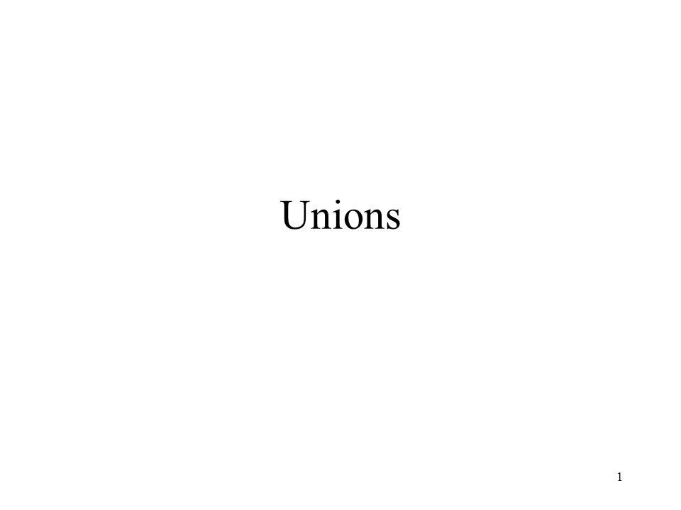 Unions 1