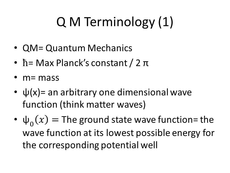 Q M Terminology (2)