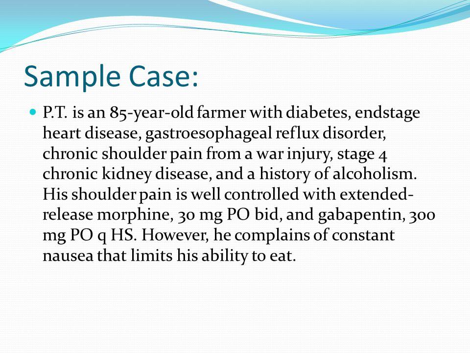 Sample Case: P.T.