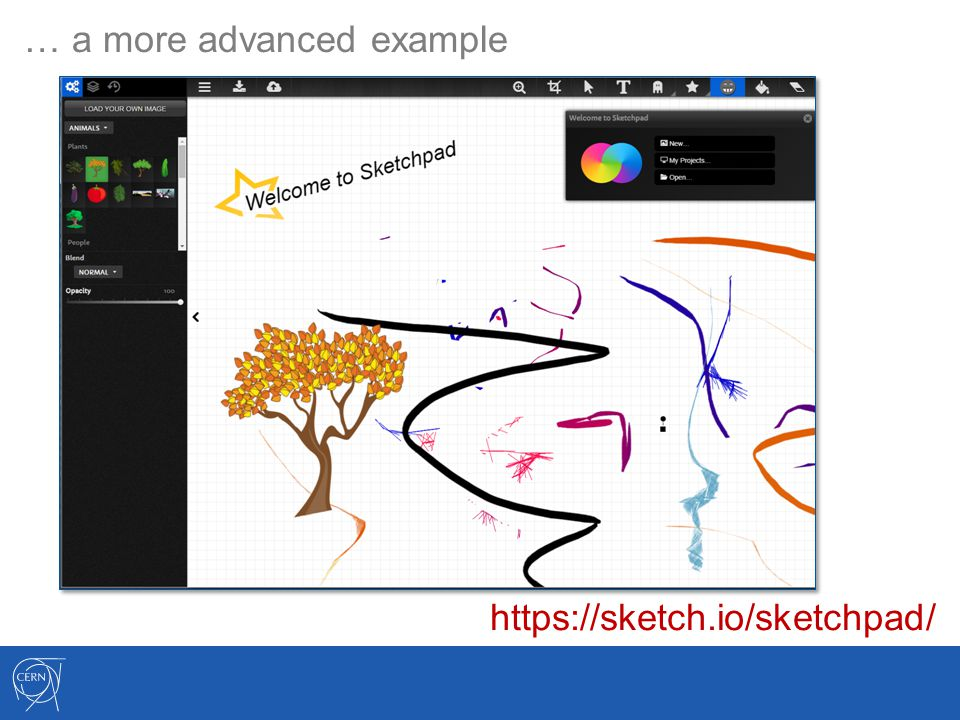 … a more advanced example https://sketch.io/sketchpad/