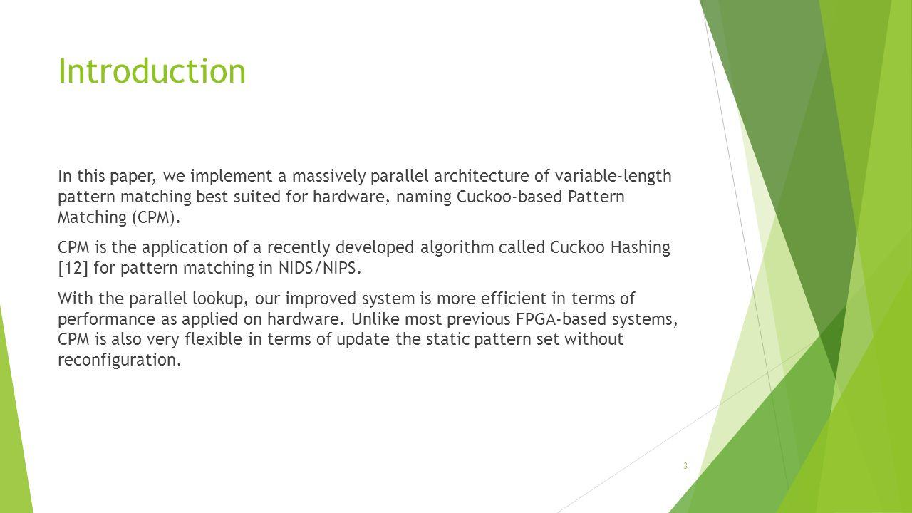 CPM – Architecture(Cont.) 14 input: ABCDEFGHIJKLMNOP ABCDEFGHIJKLMNOP... ABCD ABC AB A
