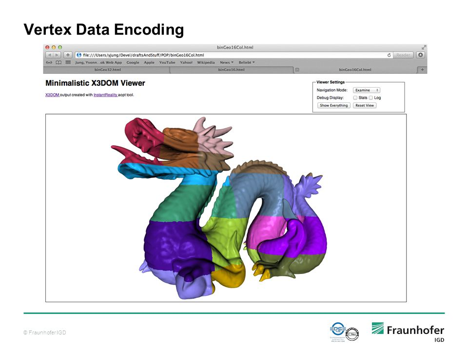 © Fraunhofer IGD Vertex Data Encoding