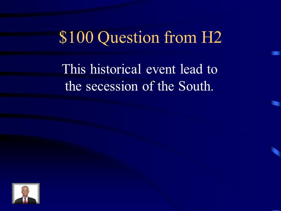 $500 Answer from H1 South