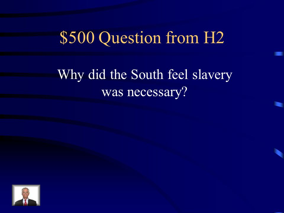 $400 Answer from H2 North