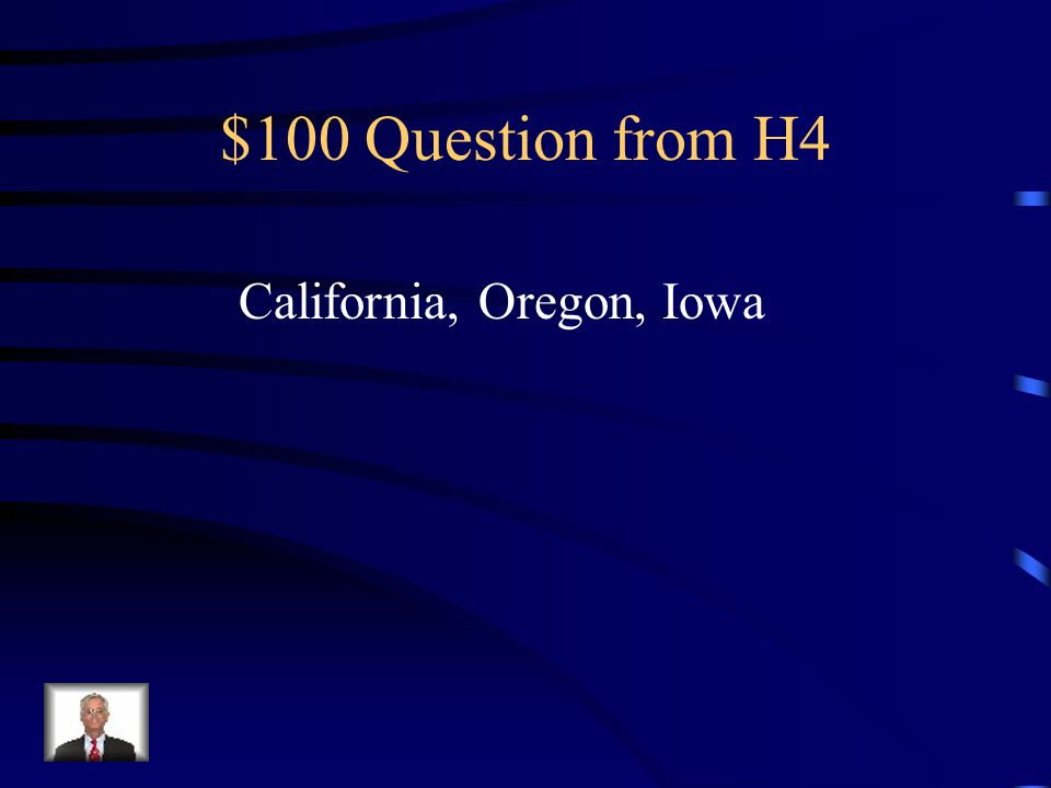 $500 Answer from H3 Missouri