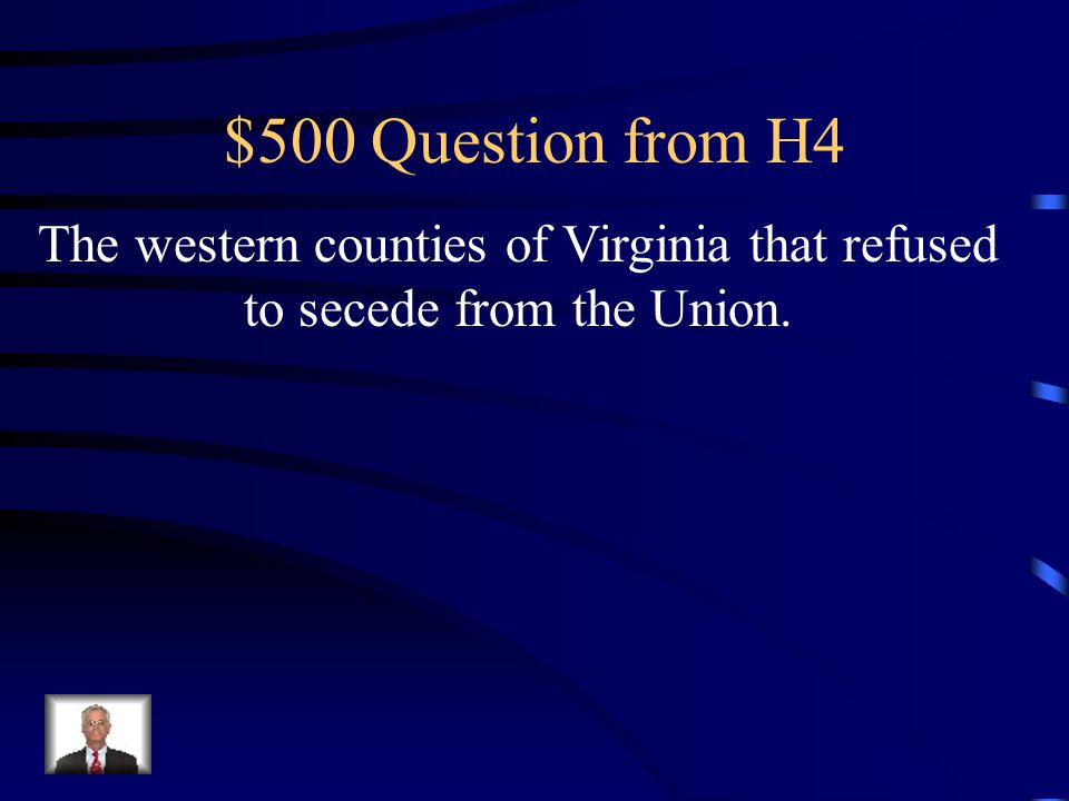 $400 Answer from H4 North