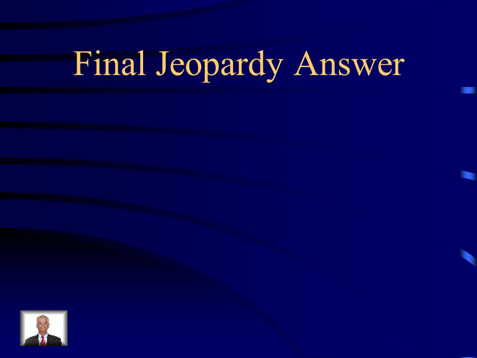 Final Jeopardy There are two Pea Plants. Both are homozygous for flower color.