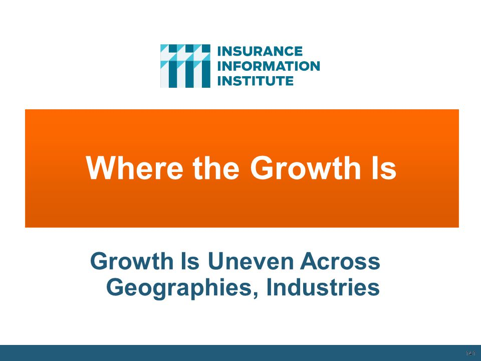 141 Where the Growth Is 12/01/09 - 9pm 141 Growth Is Uneven Across Geographies, Industries