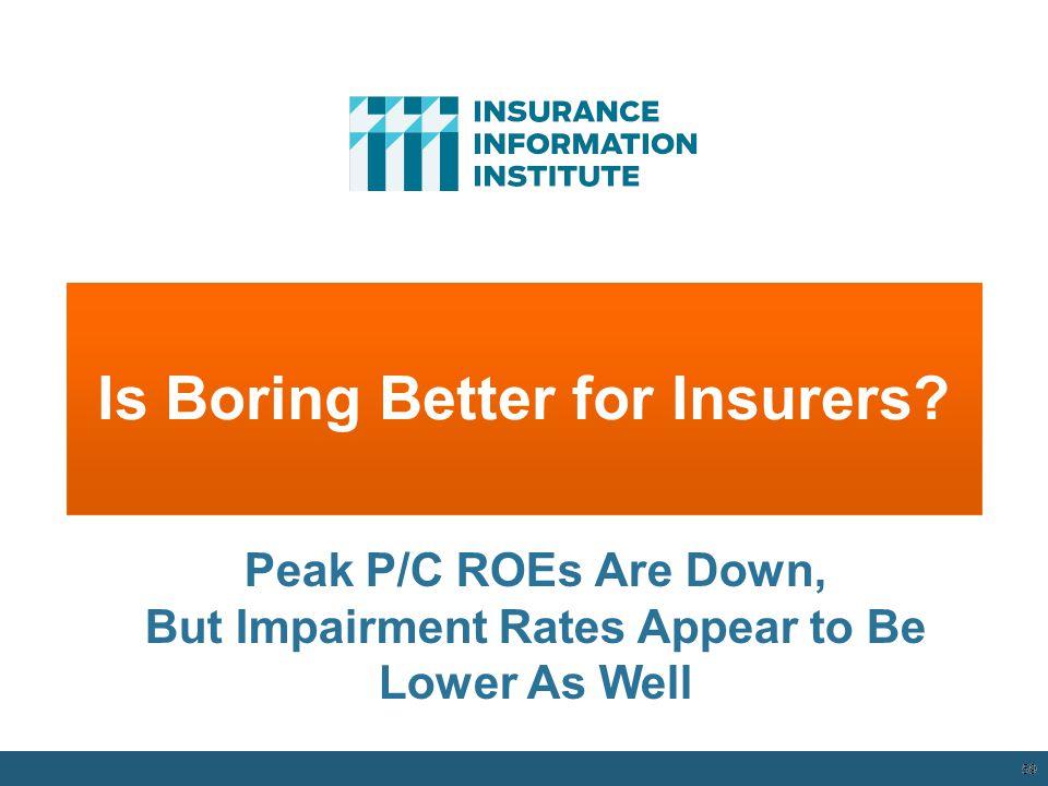 Is Boring Better for Insurers.