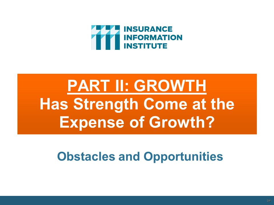 PART II: GROWTH Has Strength Come at the Expense of Growth.