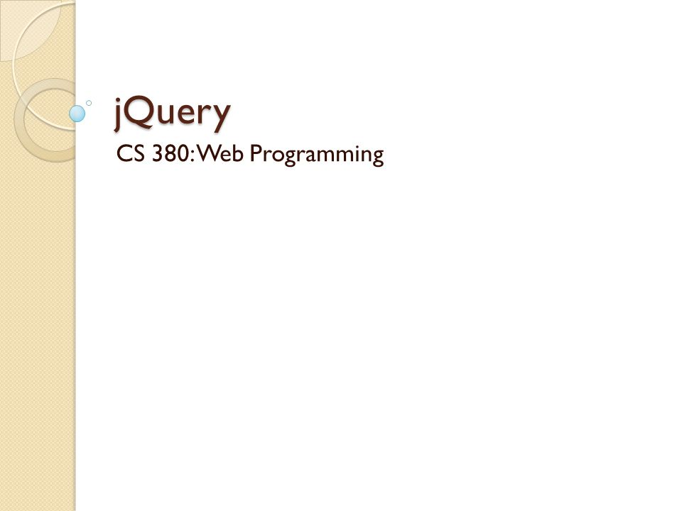 What is jQuery.