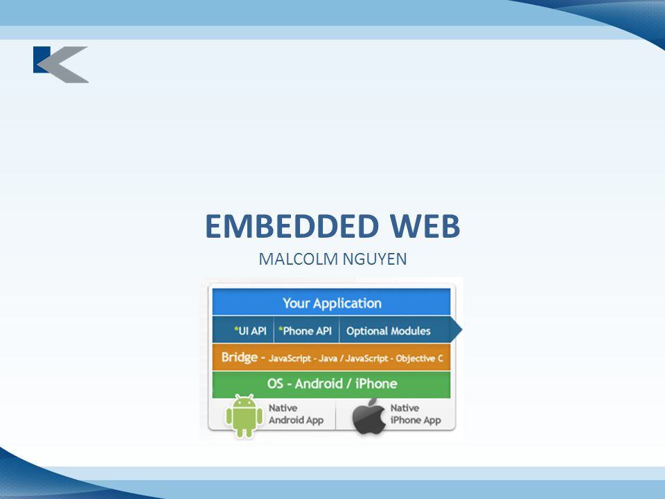 EMBEDDED WEB MALCOLM NGUYEN