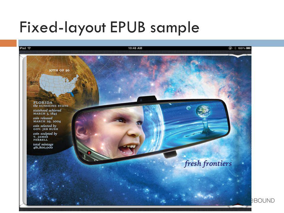 Fixed-layout EPUB sample