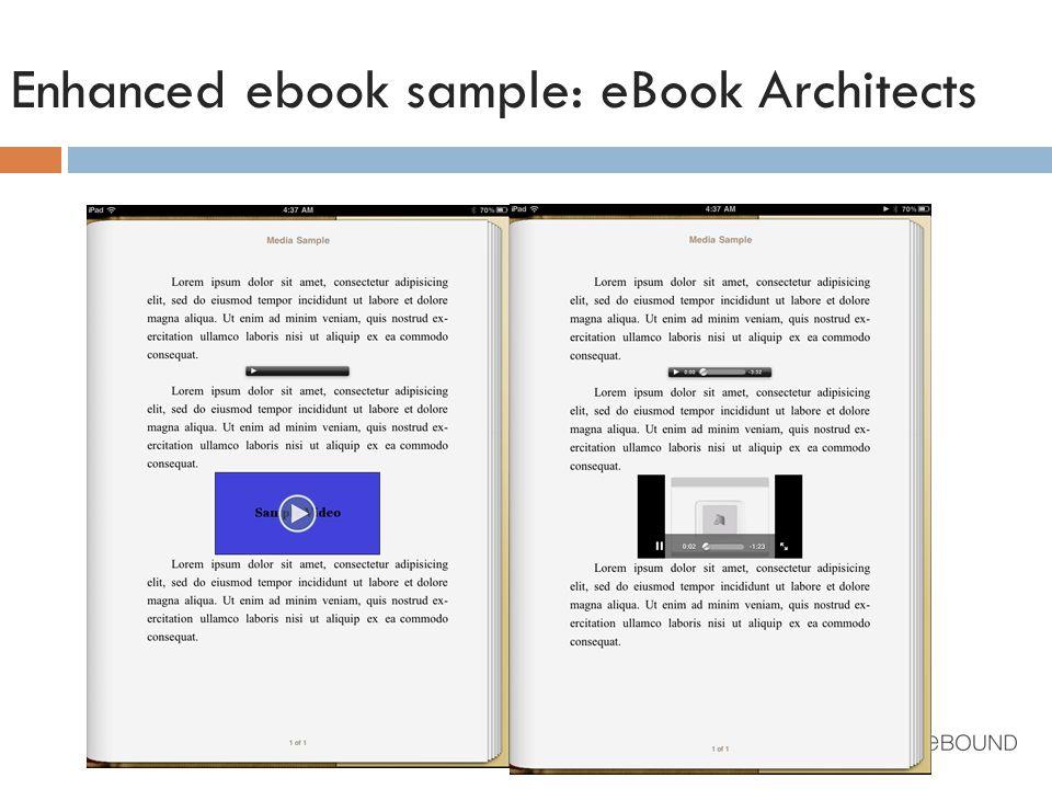Enhanced ebook sample: eBook Architects