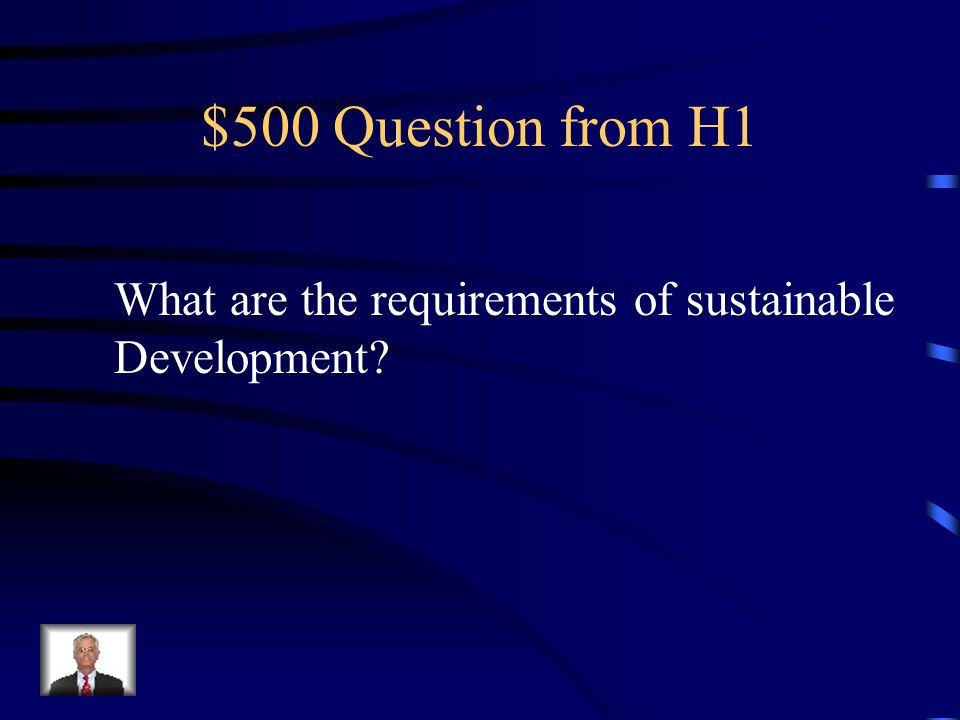 $400 Answer from H1 Agriculture Development of cities/towns Industry growth