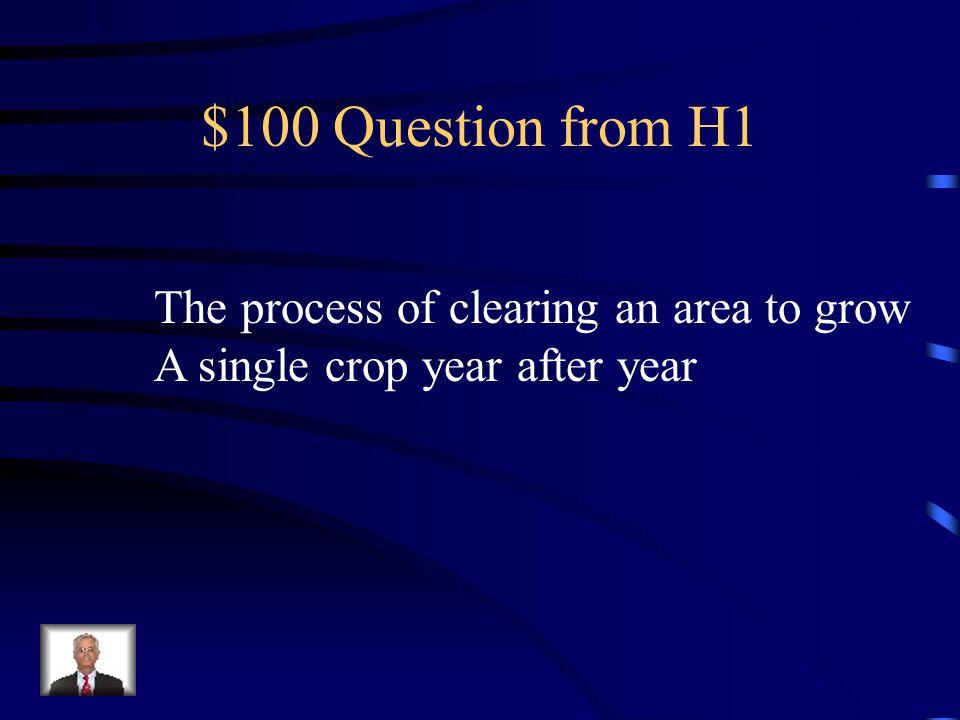 Jeopardy Changing Landscape Using Resources Biodiver- sity Challenges Miscellan- eous Q $100 Q $200 Q $300 Q $400 Q $500 Q $100 Q $200 Q $300 Q $400 Q $500 Final Jeopardy
