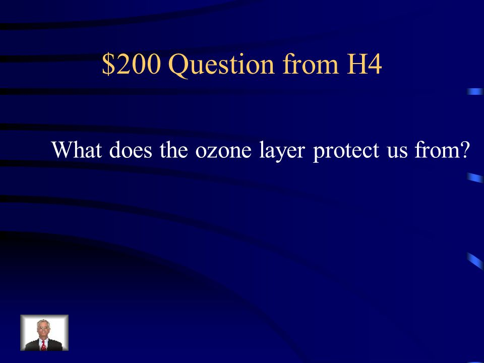 $100 Answer from H4 Ecological footprint