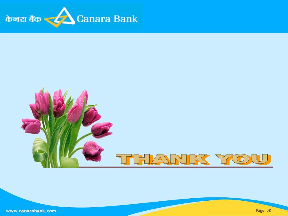 Page 58 www.canarabank.com
