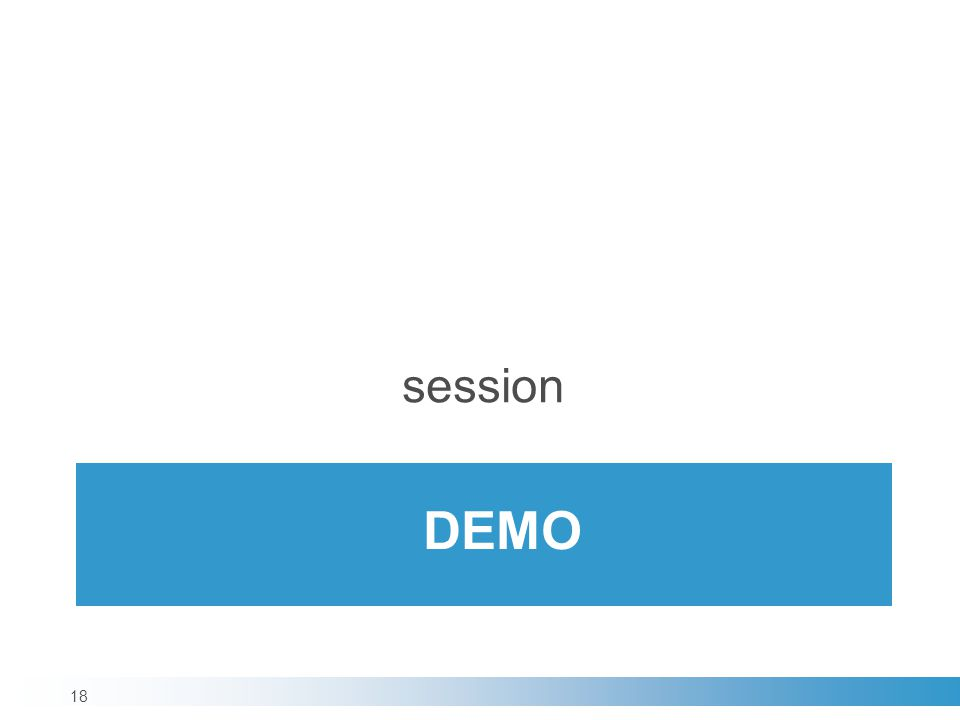DEMO session 18