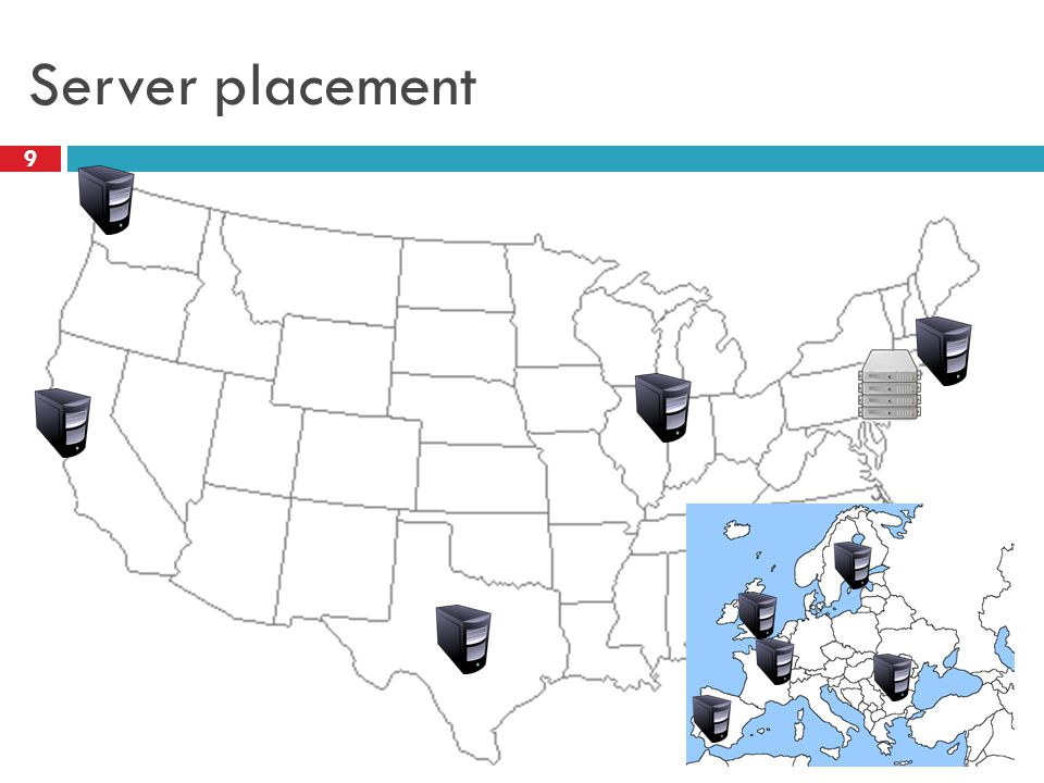 Server placement 9