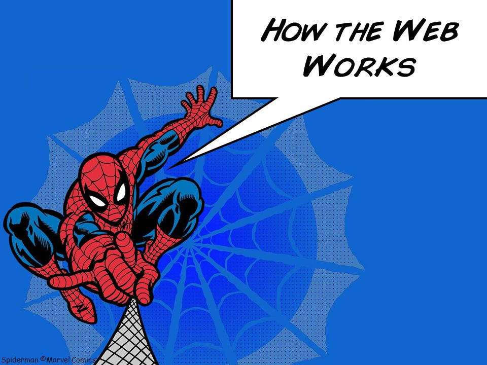 Spiderman ©Marvel Comics Be Safe and Responsible