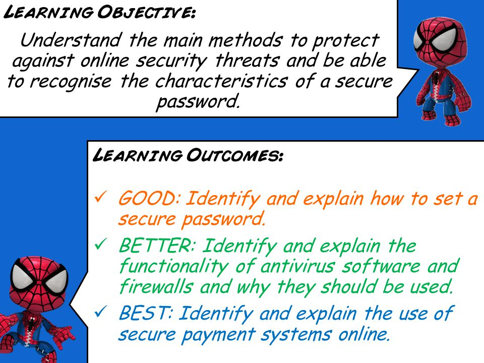 Spiderman ©Marvel Comics Online Security Risks (Part 2)