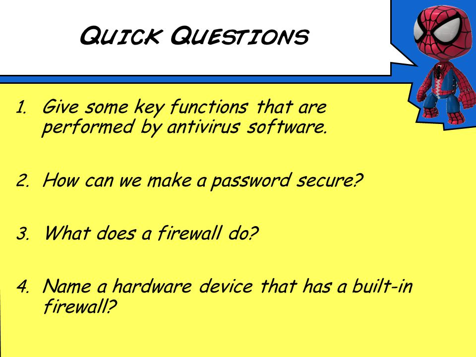 Security Risks Leaflet Passwords– Explain why passwords should be used and how to set a secure password.