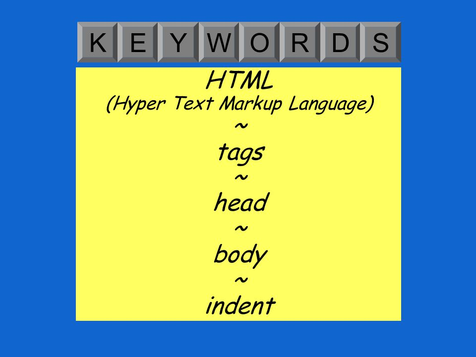 Learning Objective: Learning Outcomes: Understand how HTML is laid out and which components are required to make a simple webpage.