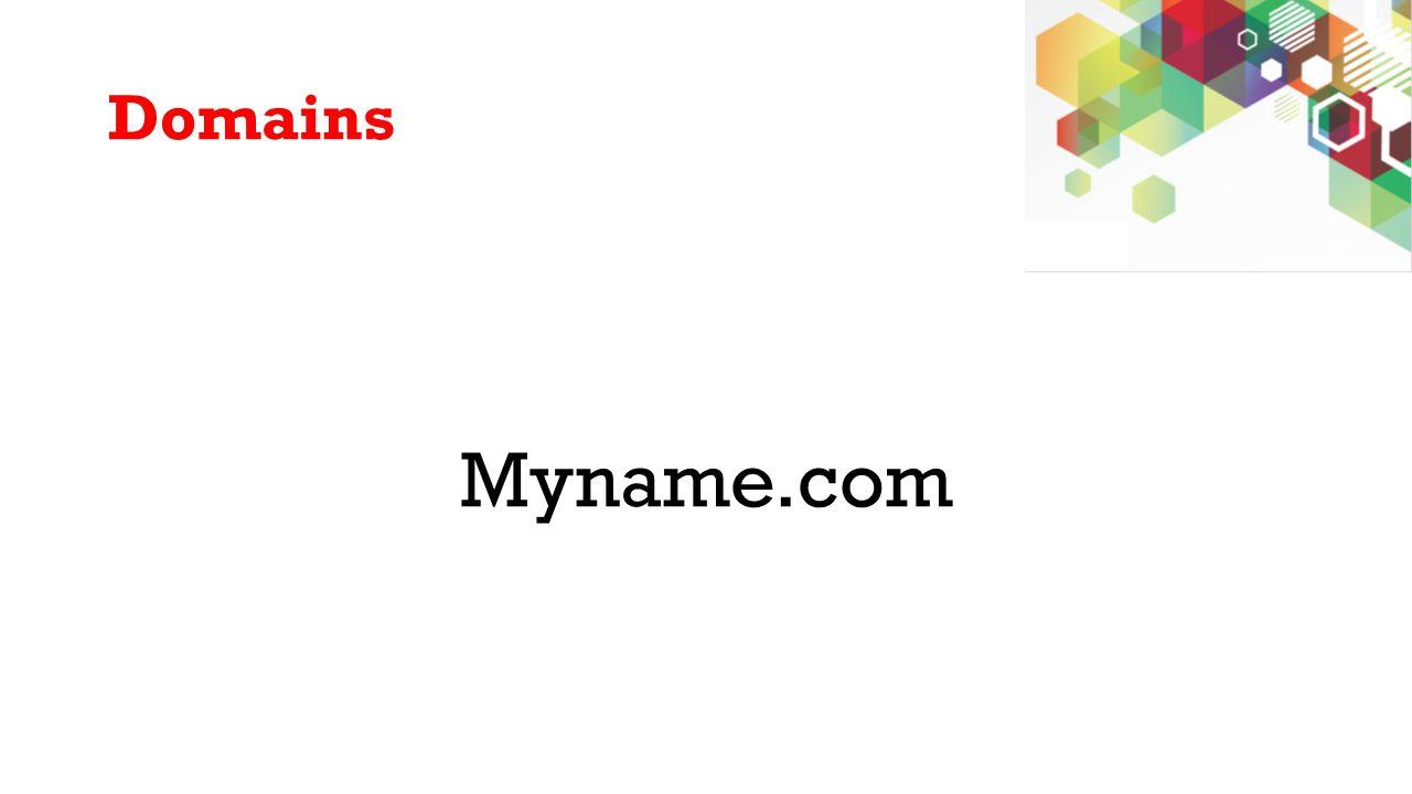 Domains Myname.com
